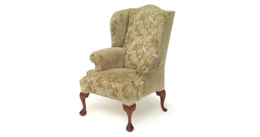 Ball and Claw Wing Chair