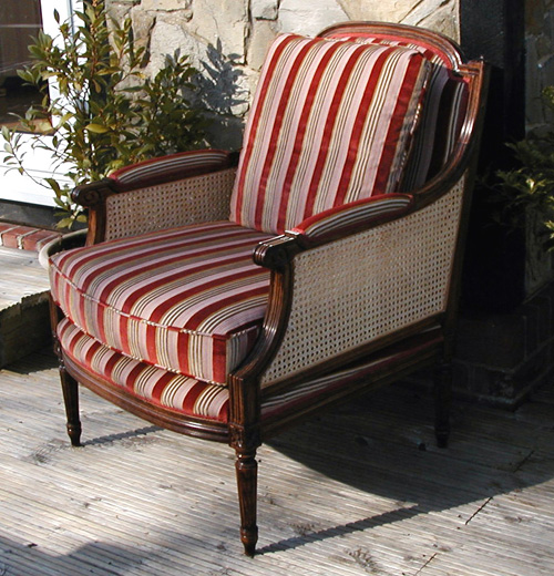 cane bergere chair stock item by anagram interiors