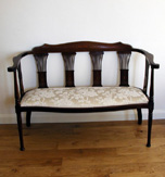 Edwardian Salon Settee