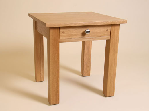 Lamp Table with Drawer