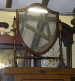 Edwardian Swing Mirror