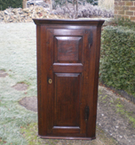 18th Century Hanging Corner Cupboard