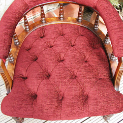 Buttoned Tub Armchair