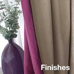 Curtain Finishes