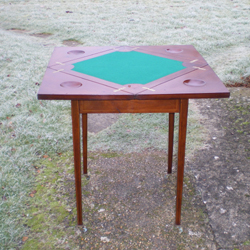 Edwardian Envelope Card Table